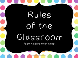Classroom Rules for Primary Learners!