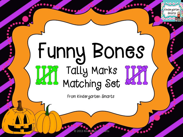 Funny Bones Tally Marks Matching Set