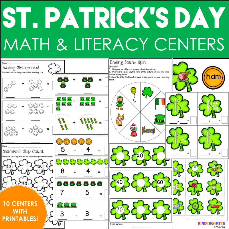 St Patricks Day Worksheets and St Patricks Day Games 922929 - aks ...