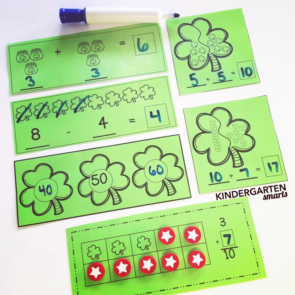 st. Patricks math centers