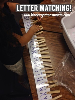 Hands-on Literacy and Math centers for the beginning of the year