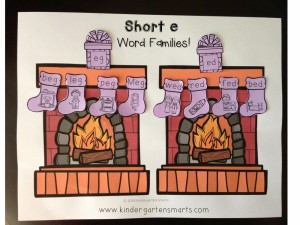 http://www.teacherspayteachers.com/Product/Holiday-Word-Families-1606363