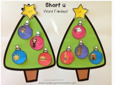 Holiday Word Families