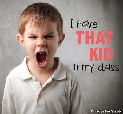 I have THAT KID in my class