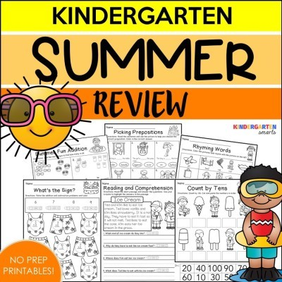 Summer Review with a freebie