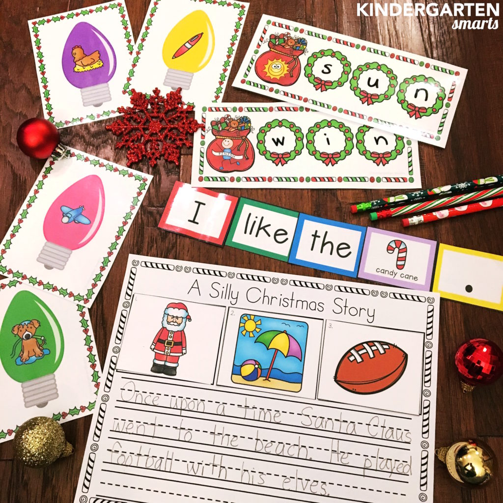 christmas-literacy-centers
