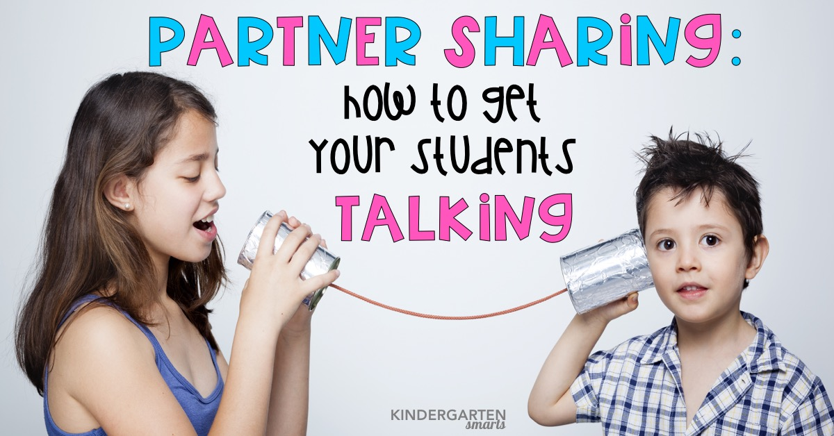 Partner sharing: how to get your students talking
