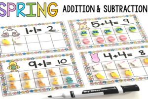 Spring Addition & Subtraction