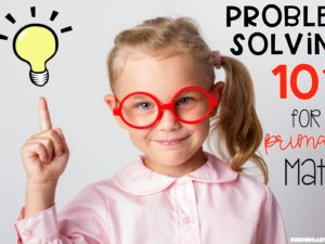 Problem Solving in Mathematics for primary students