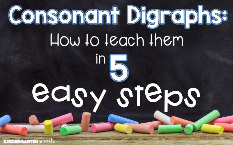 Consonant Digraphs: How to Teach Them in 5 Steps