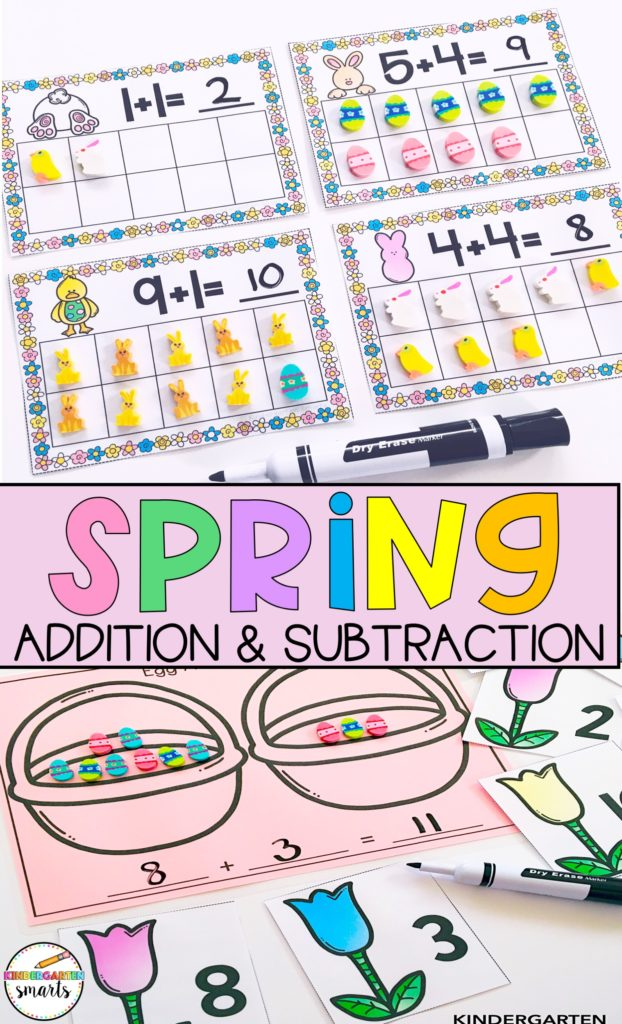 spring centers addition & subtraction