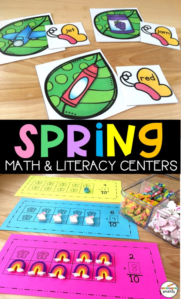 spring centers math & literacy