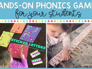 Hands-On Phonics Games for Your Students