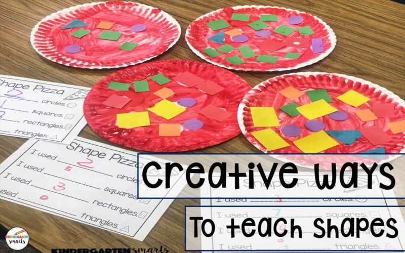Creative ways to teach shapes