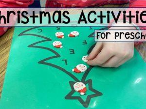 Christmas Activities for preschool